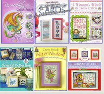 Boutique cross stitch-Joan Elliott design cross stitch 6 sets collection
