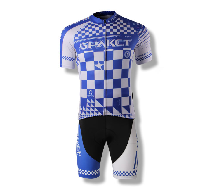 Spakct Spark Cycling Suit Short Sleeve + Short Pants Fast Dry Sweat