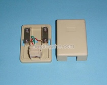 With copper telephone line junction box telephone connection socket telephone line connector telephone terminal junction box