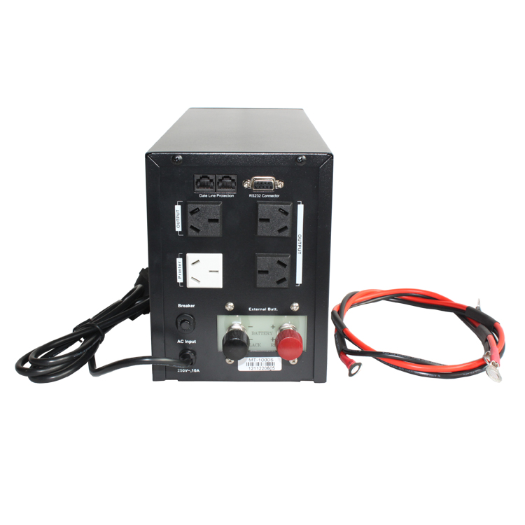 CSTK UPS uninterruptible power supply MT1000S 1KVA 600W 100AH2 only delay 3 hours voltage regulator