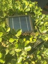 Solar wireless remote transmission of soil temperature and humidity SHT10 STH11 temperature 18B20 free web page