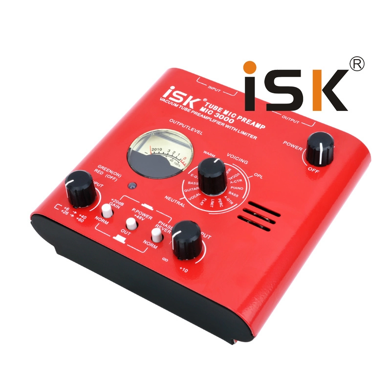 ISK MIC3000 Tube Microphone Reverberation Amplifier Studio Network K song