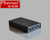 Pheenet Fenit small 8 - port ST desktop fiber optic terminal box fiber optic cable pigtail wiring wiring box