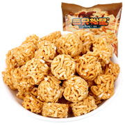 Tmall supermarket three squirrel Hand-Pulled Noodle balls 85g leisure snacks expanded food simply face skewers taste