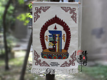 Tibet knitting wool, ten phase free tapestry, ten phase free pattern, hand woven cotton and linen tapestry