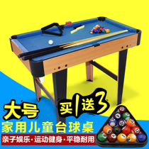 American Children King Size Billiards Pool Table Home Billiard Tables  Childrens Wooden Toy Standard Billiard Pool