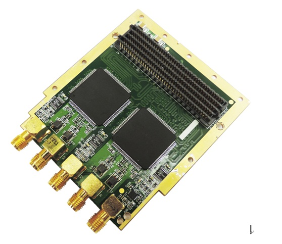 Sous-carte d'acquisition de données haute vitesse ADC081500 HPC FMC (Experimental Verification Board)