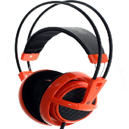 Baggage Saire Siberian V1 full-size headphones with microphones and wire-controlled video games to listen to music