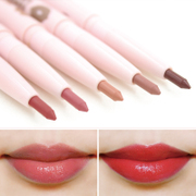 South Korea THE FACE SHOP Automatic Lip lip pencil wine pink lip liner waterproof durable not easy makeup lipstick pen