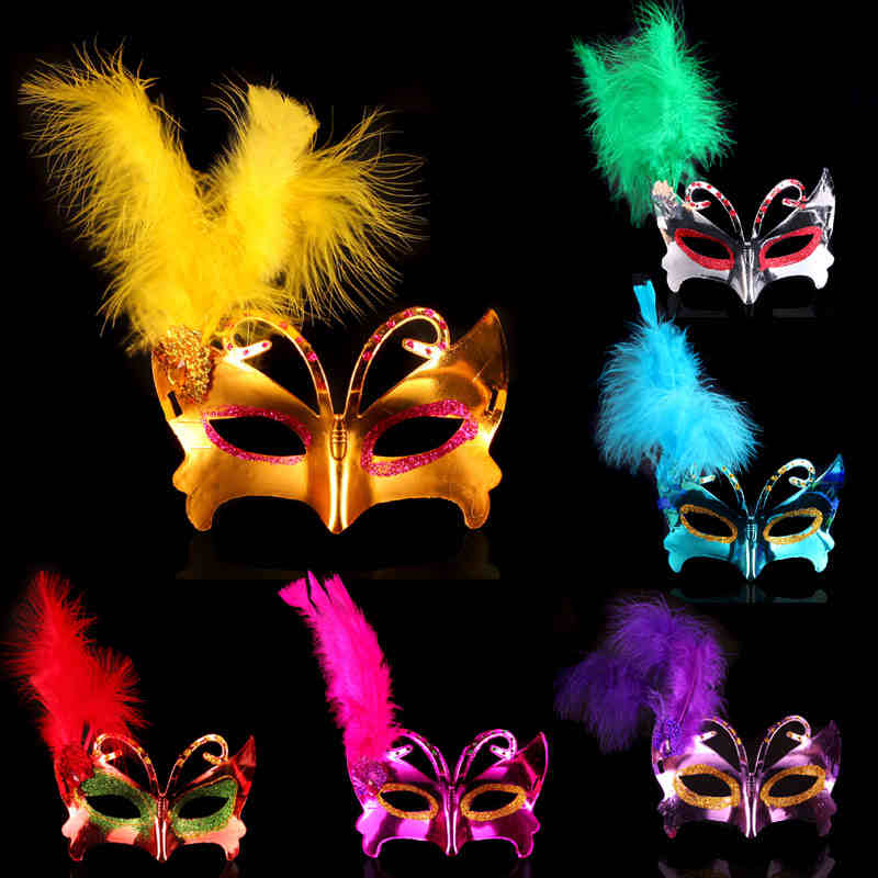 Halloween Mask Girl Princess Party Projects Adult Party Headdress Mask Half Face