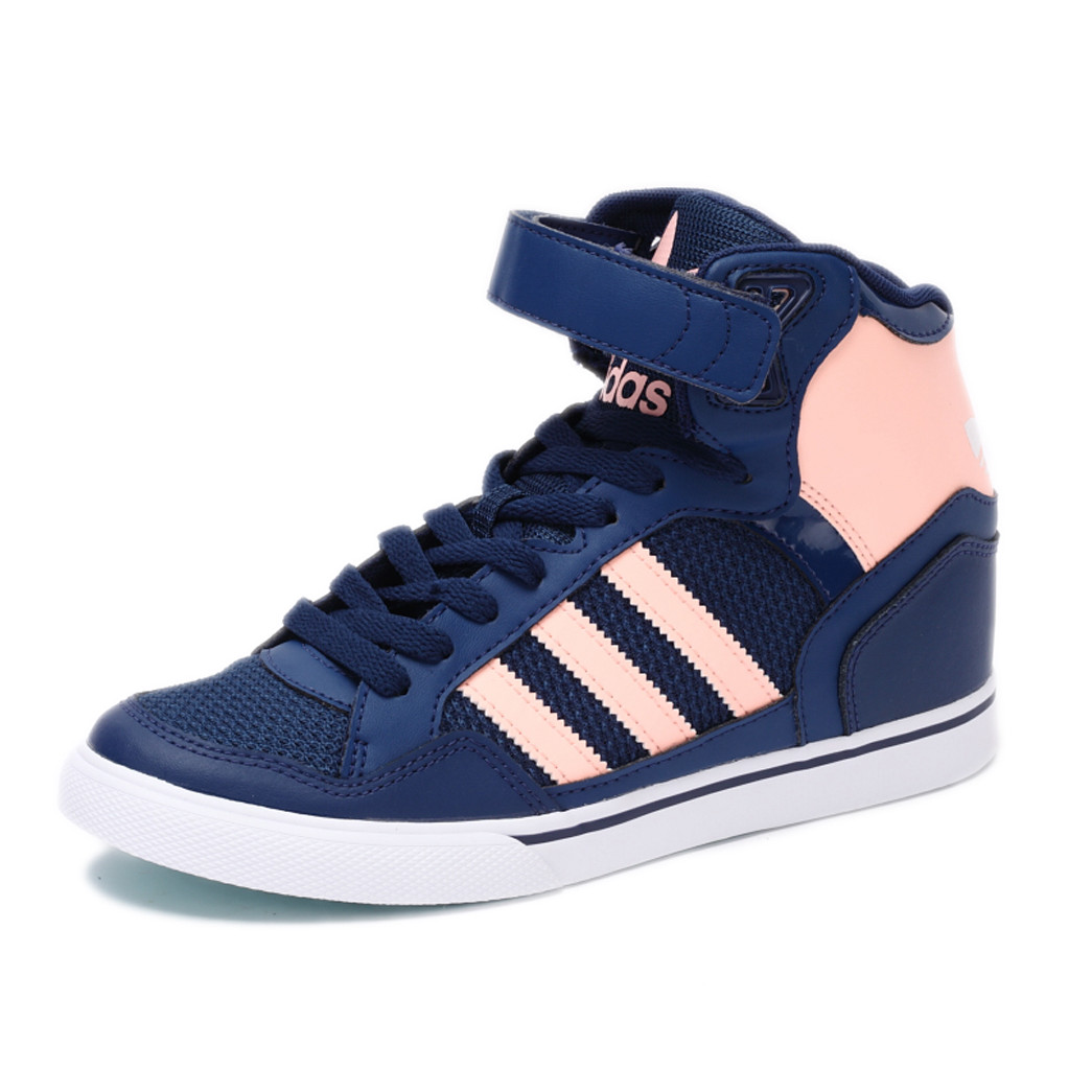 cef24385 Shooter invincible Genuine Adidas clover EXTABALL UP female high help  increase shoes BY2330