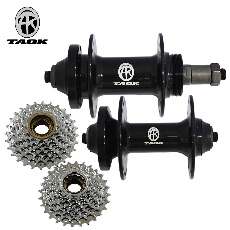 TAOK Tuoke Mountain Bicycle Flower Drum 32 Holes 36 Holes Front and Back Quick Dismantling Ball Shaft Skin Rotary Flower Drum