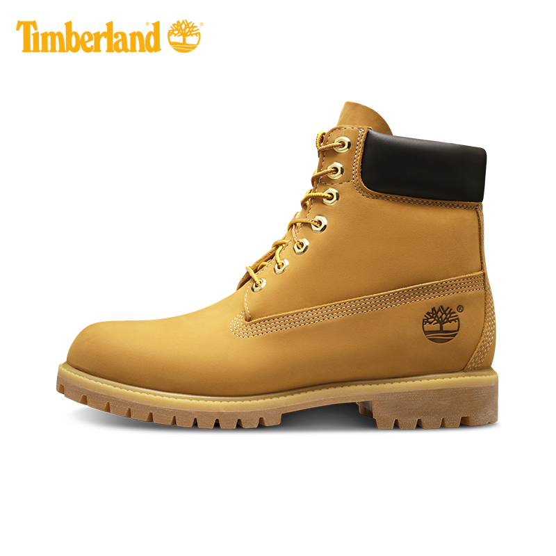 Classic timberland timberland cowhide waterproof Classic Yellow Boots Men's shoes 10061