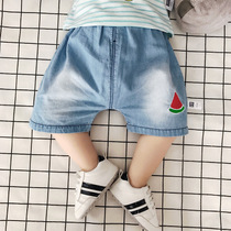 Summer baby PP pants baby pants toddler cotton jeans 3 newborn clothes 0-6 in the summer months