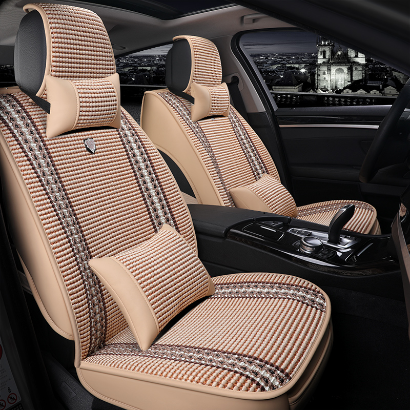 Vehicle cushion Summer Volkswagen New Speed Teng Lang Yi Santana Jetta Bora Full Ice Wire Seasons Universal Seat Cover