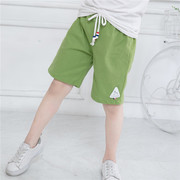 Children Summer Cotton Shorts five pants shorts tag children beach pants baby pants pants Leggings