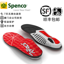 Shock Absorption of Ultra-Light Arch Support for Running insole Running Marathon in Speco Advanced Professional Competition, USA