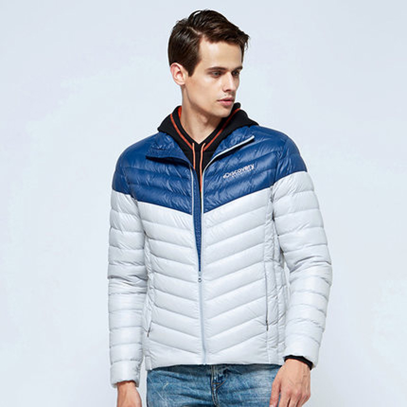 [The goods stop production and no stock][The goods stop production and no stock]Discovery outdoor 2016 autumn and winter new style down jacket men's warm white duck down jacket DADE91319