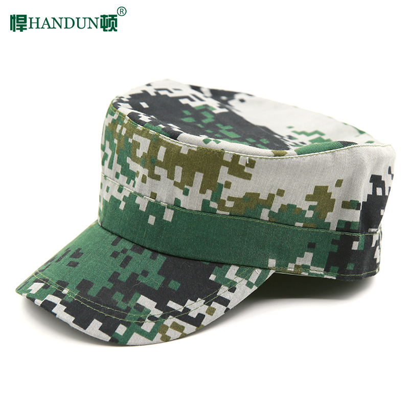 悍顿 flat cap camouflage cap military training cap male army fan supplies army fan cap combat cap camouflage training cap camouflage cap