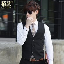 Spring and autumn style Korean version of self-cultivation men's suits and armour men's business leisure professional suits and thin style trend