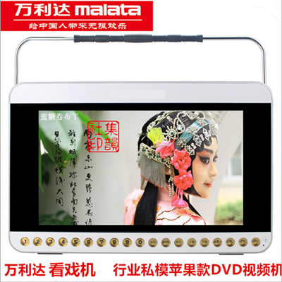 Wanlida 13-inch Cinema Recorder Video Play Radio Amplifier Old Plaza Dance for the Elderly