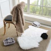 Creative bedroom lovely soft long imitation sheep plush carpet mat mat mat mat suede cloth