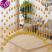 Bead curtain crystal curtain Feng Shui gourd living room bedroom hanging curtains bathroom finished kitchen balcony bead curtain