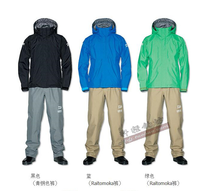 Genuine Daiwa Daiwa DYW DR-1801 Rain-proof and Waterproof Fishing Suit Rocky Fishing Suit Spot Package