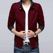 The new trend of Korean men's coats in spring 2017 men's casual wear gown jacket thin young spring spring