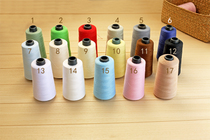Hand sewing thread stitching 402 clothing color cotton polyester line of organic cotton clothing DIY 4000 yards