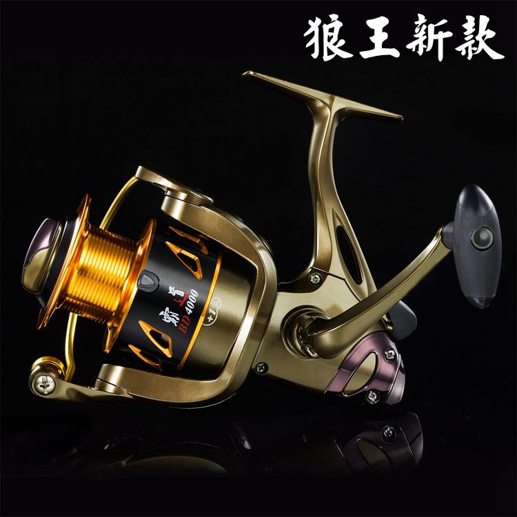 Wolf King New 3000 4000 11 Axis Corrosion Resistant Spinning Wheel Fishing Line Wheel Sea Fishing Line Wheel