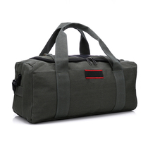 Cheap canvas bag large capacity bag man hand bag female short duffel bag shoulder bag Messenger bag