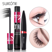 Long SUIKONE grafting Mascara Waterproof fiber Alice not dizzydo ultra thick fiber combination packages
