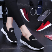 Lok Fu shoes running shoes casual flat spring 2017 new Korean students tide all-match lazy shoes