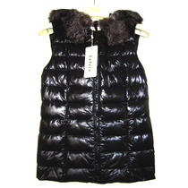 Summer Shoppe genuine masimiya lafeta Rafi Tower winter womens leather clothing sent down vest