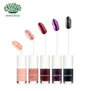 Innisfree/ Innisfree vitality nail polish Ballet Series sequins nude color 10 color colorful and elegant