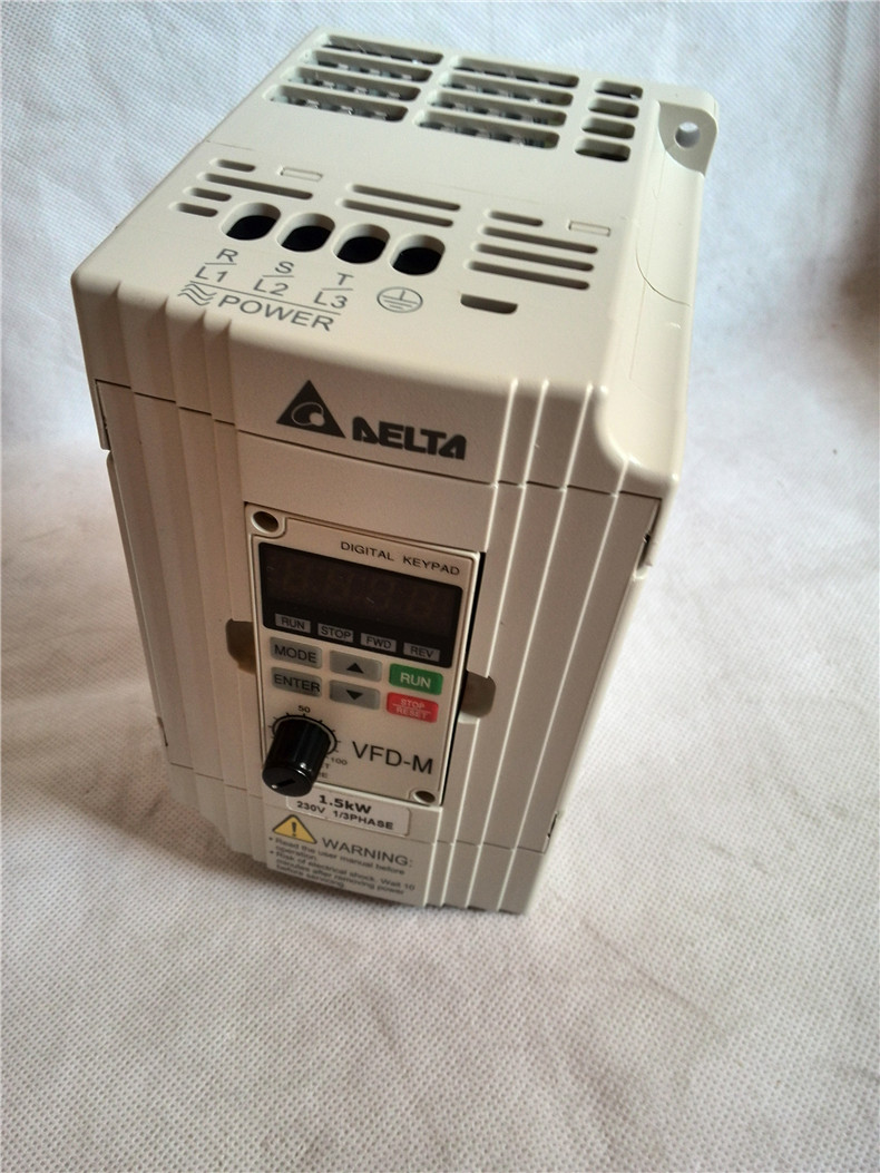 Delta Inverter VFD015M21A Single Phase 220V 1.5kw Increased Ticket