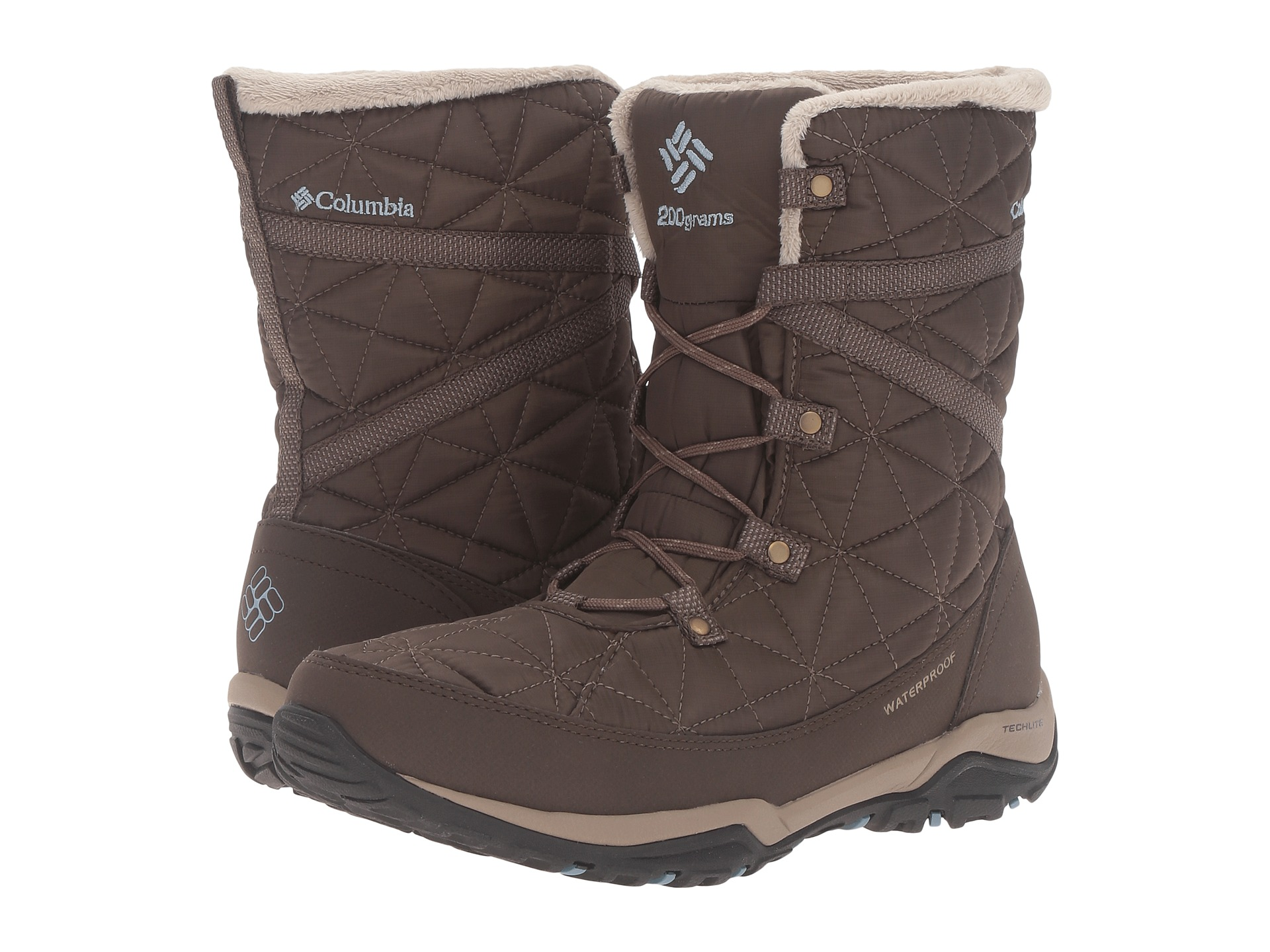 Columbia Colombia Waterproof Slip-proof Downy Snowy Boots Loveland Mid