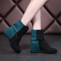 Romantic town women 's winter boots women' s shoes new Europe and the United States to fight the color boots boots women boots boots fringed casual
