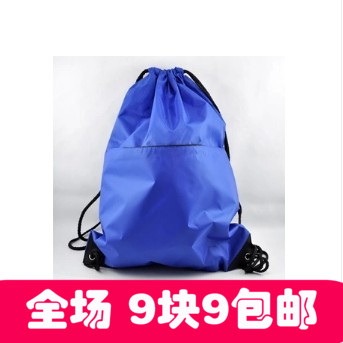 Drawstring bag, beam storage bag, debris bag, large capacity shoe bag, lightweight backpack, with zipper