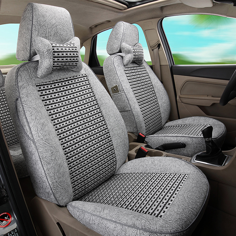 [The goods stop production and no stock]Full-package car seats Volkswagen's new Bora Polo Express Jetta Santanarang Escape Summer Ice Silk Seats