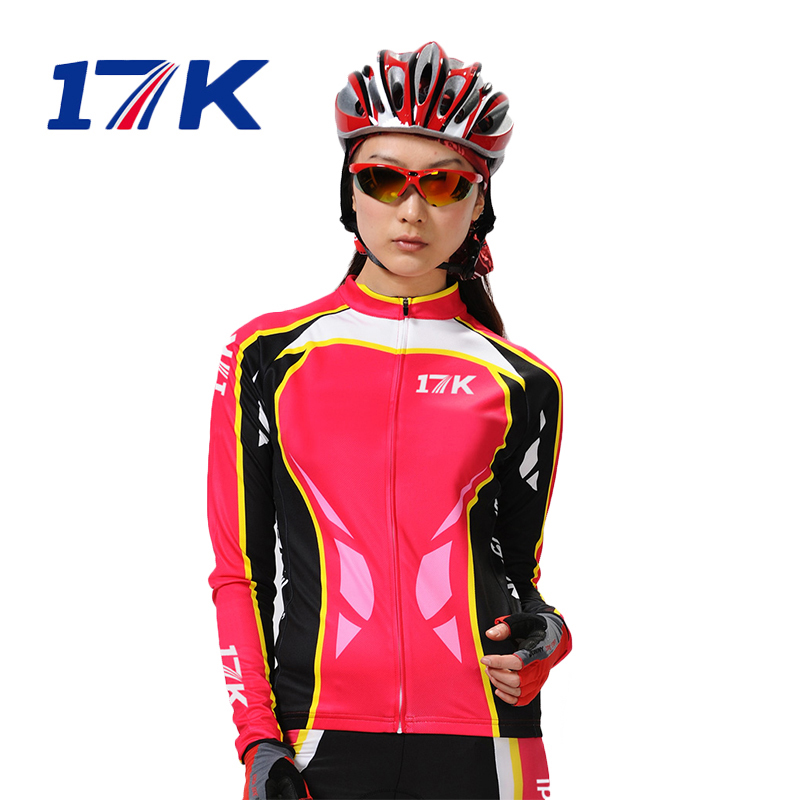 Meissenlan 17K bicycle long-sleeved Jersey suit cycling Jersey long-sleeved suit female riding equipment