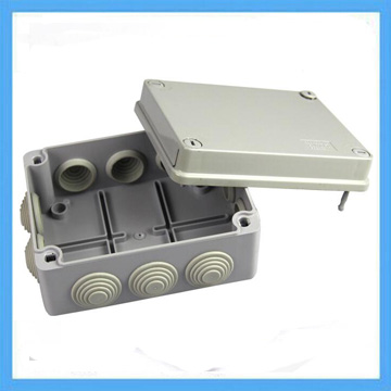 150*110*70 mm ABS waterproof box with hole plastic junction box with rubber plug IP56 instrument housing