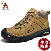 Mr camel shoes male winter warm cashmere leather men's outdoor sports and leisure waterproof boots