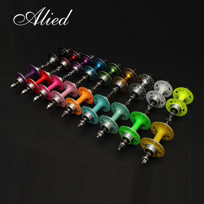 ALIED genuine dead fly flower drum 32 hole inverted ride bearing aluminum alloy color fluorescent live fly special offer free post