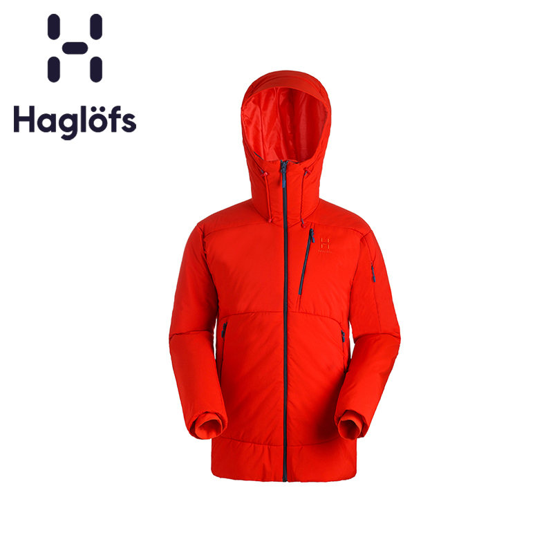 Haglofs Matchstick Men's Sports Outdoor Windbreak Warm and Durable Skiing Jacket Series 603444 Euro Edition