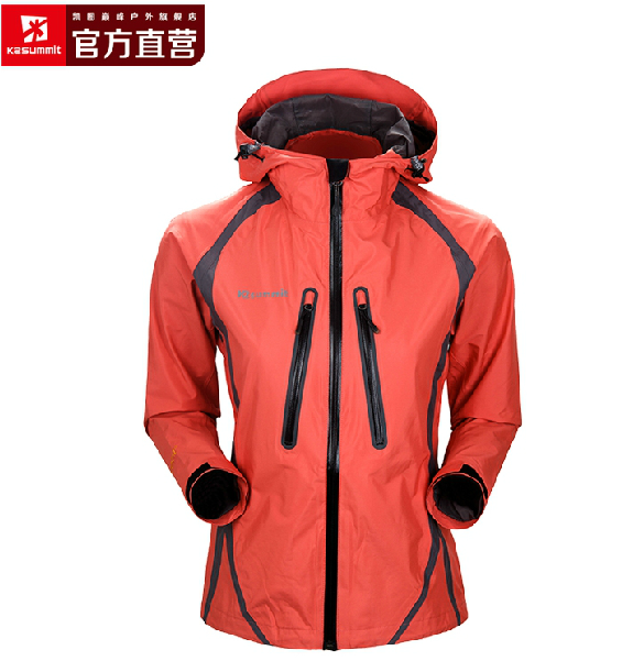 K2 summit/凯图巅峰 event waterproof and breathable women's jacket AA76 outdoor climbing