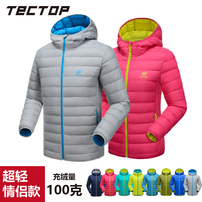 TECTOP Outdoor Light Down Garment for Men and Women