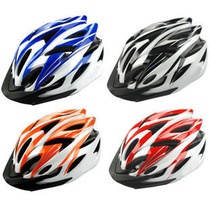Integrated riding helmet mountainous bicycle safety hat bicycle helmet riding equipment