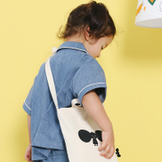 TYAKASHA \ ORING printing white Taka Shami Canvas Bag Satchel child models JOC110\JOC87